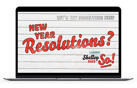 Shelley Says So Resolutions 31-Day Challenge 2020