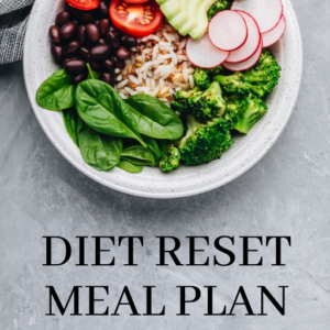 Diet Reset Meal Plan
