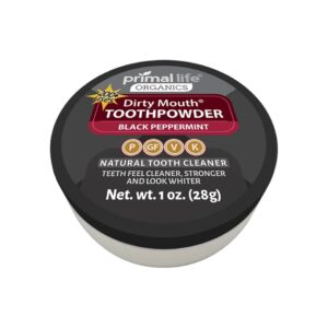 Toothpowder